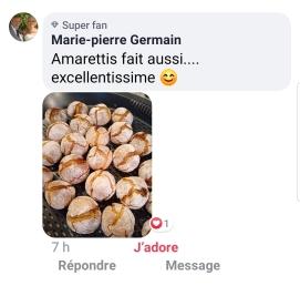 Amaretti Marie pierre GERMAIN sur mon FC les créa 2