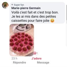 Truffe choco marron Marie Pierre Germain sur mon FB les Créa 2